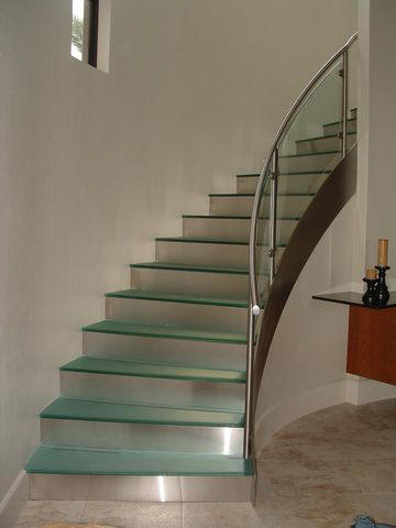 Curved Steel Stairs