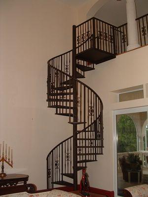 Merveilleux Custom Interior Spiral Staircase On Sanibel.
